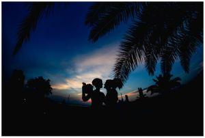 Spose al tramonto