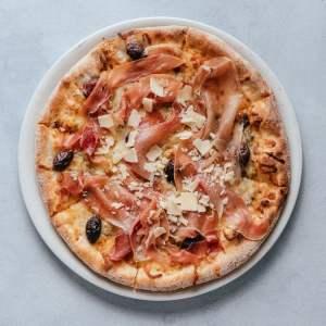 blu beach pizza bianca