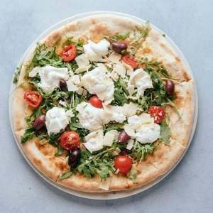 blu beach pizza focaccia