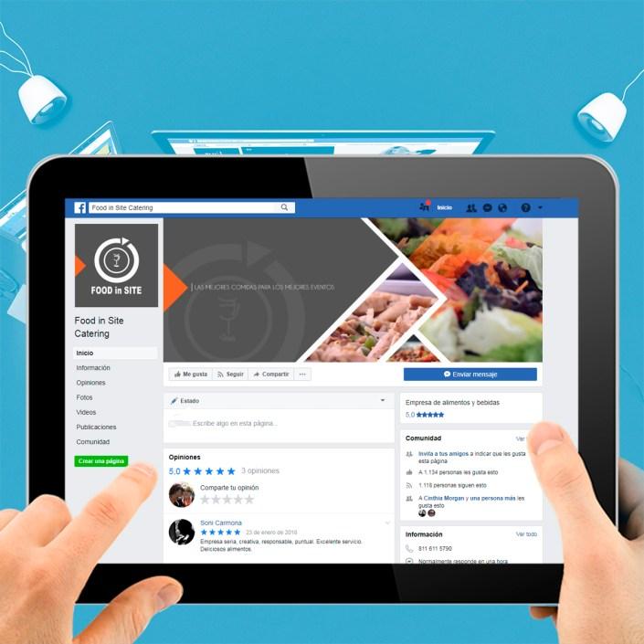 BluCactus Agencias de Redes Sociales México - Food in Site