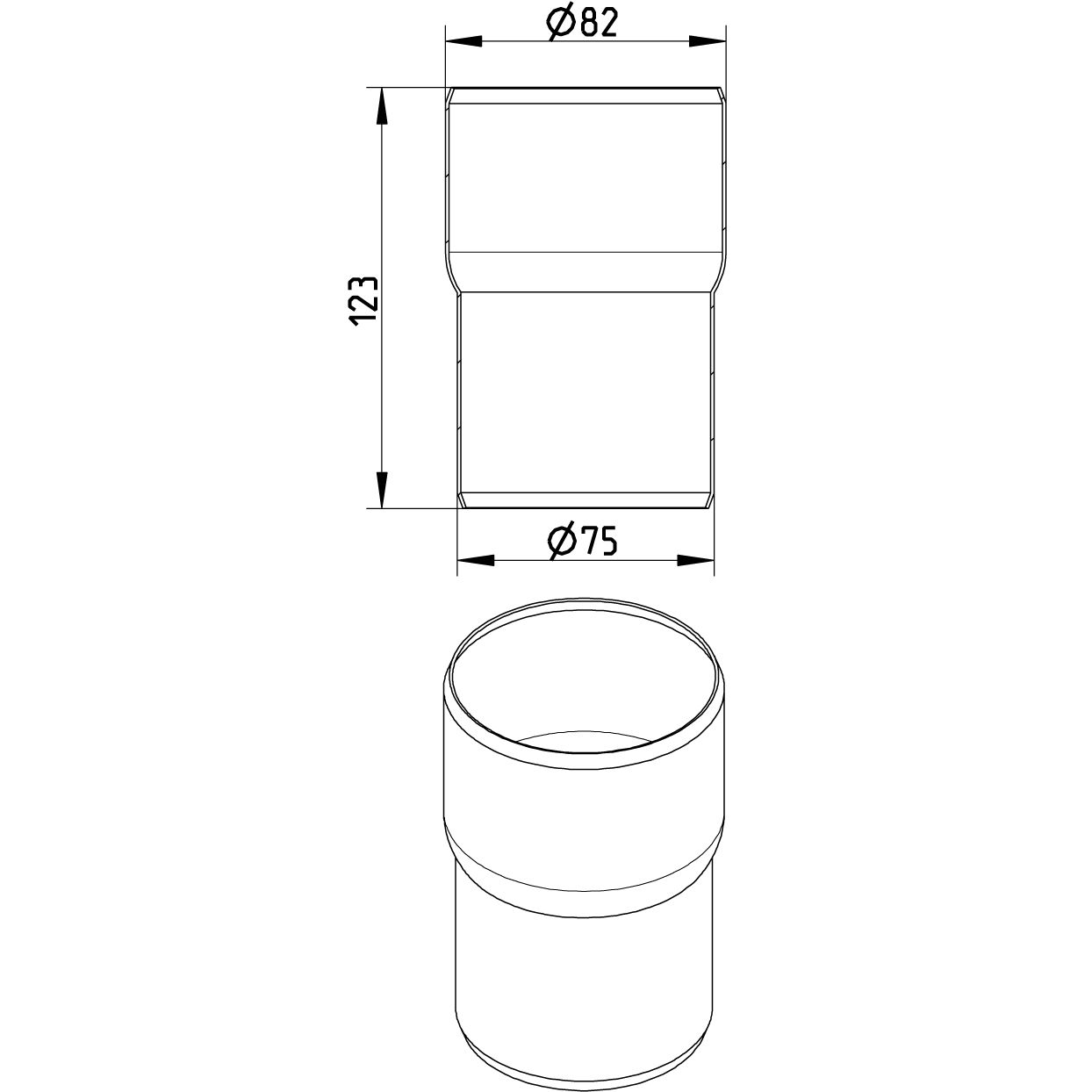 hight resolution of diagram of a pvc pipe