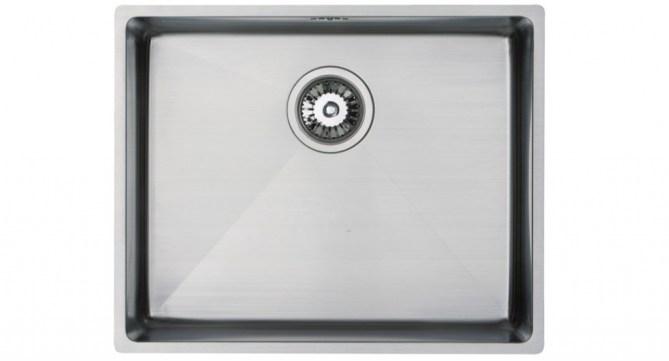 Bluci Acute 04 Large Versatile Single Bowl Stainless Steel Kitchen Sink
