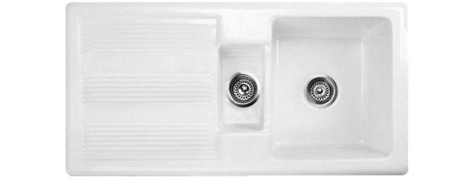 Bluci Vecchio G1 1.5 Bowl Ceramic Kitchen Sink