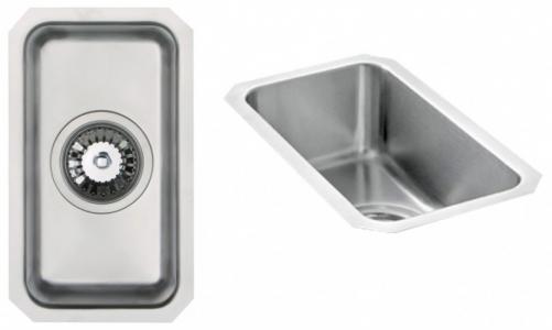 Bluci Orbit 22 Half Bowl Undermount Stainless Steel Kitchen SInk