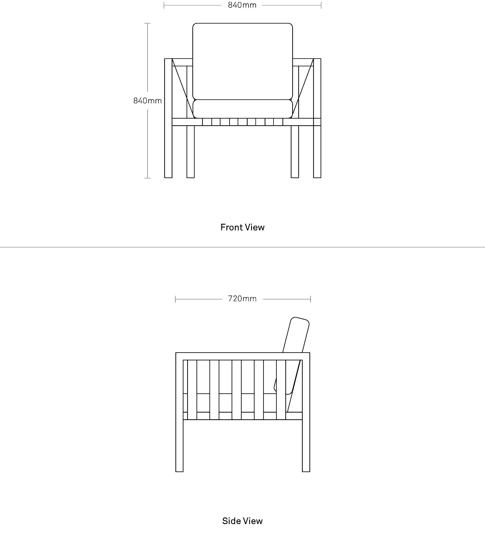 lounge chair dimensions coleman lumbar quattro jibe outdoor chairs modern furniture