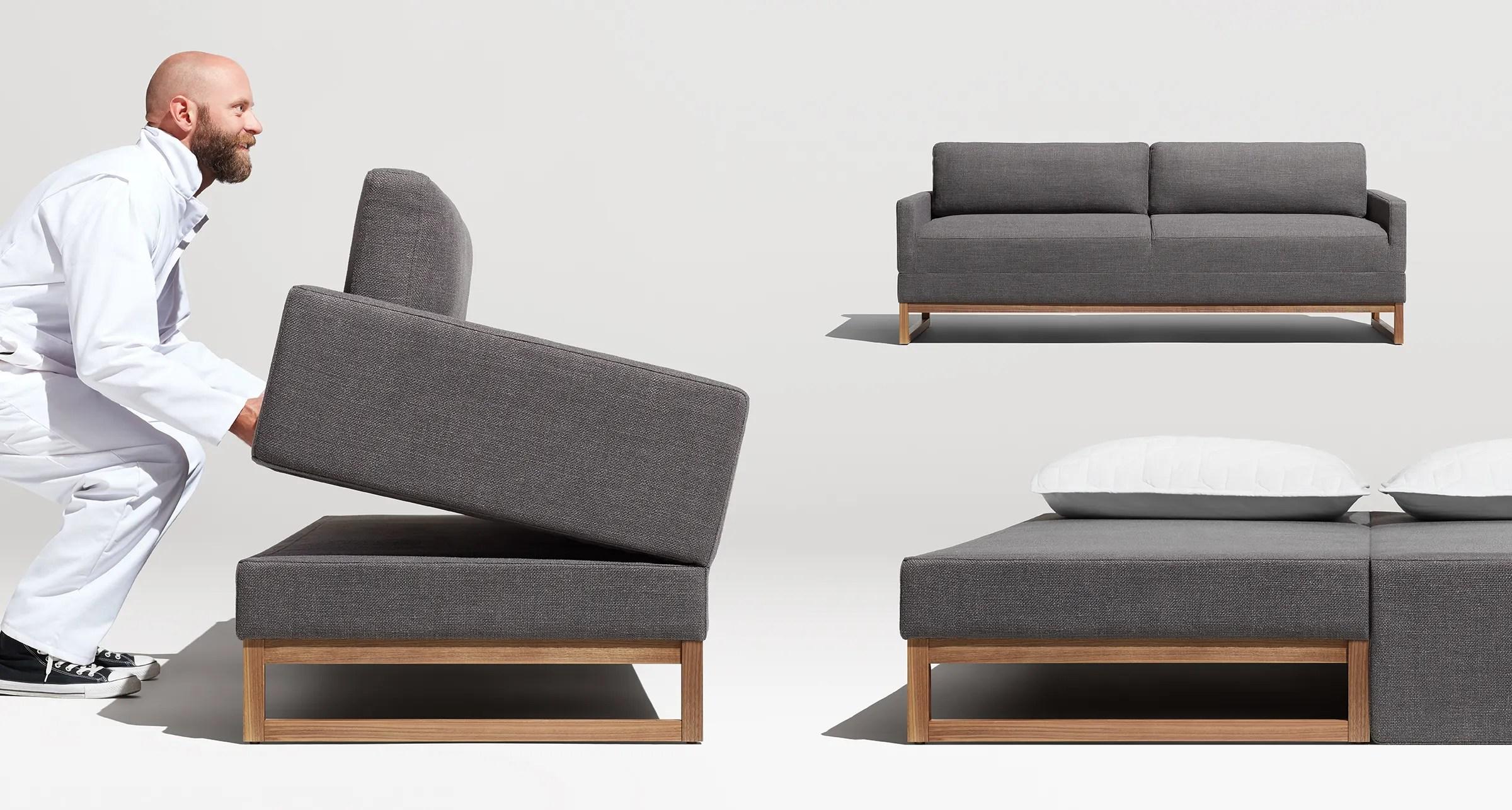 Diplomat Modern Sleeper Sofa  Queen Sofa Beds