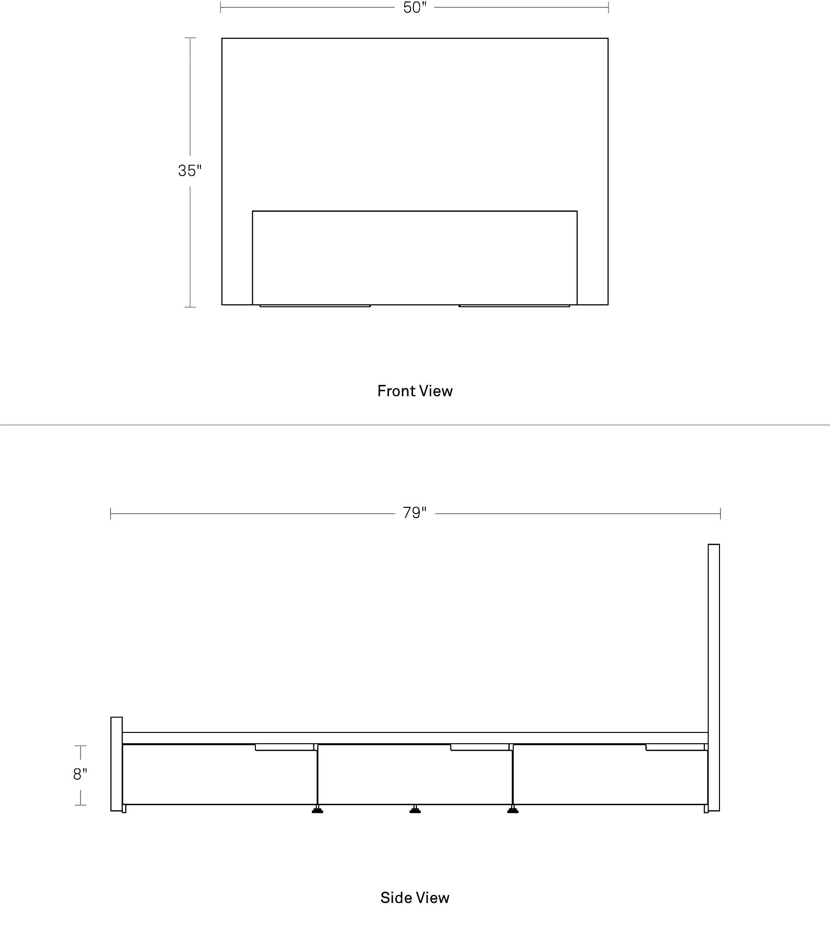 Modu Licious Twin Bed Twin Storage Bed Blu Dot