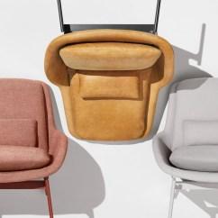 Blue Dot Chairs Swing Chair Spring Field Lounge Modern Blu