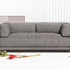Blu Dot Bank Sofa Modern With Recliner Bloke 107 Thesofa