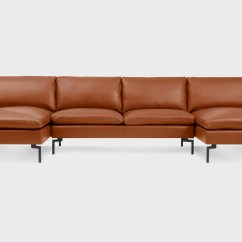Sectional Sofa U Shaped Flexsteel Dylan 1127 31 New Standard Leather Blu Dot Touch Me