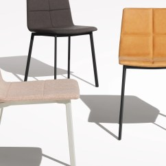 Leather Dining Chairs Herman Miller Aeron Chair Repair Manual Modern Between Us Blu Dot By