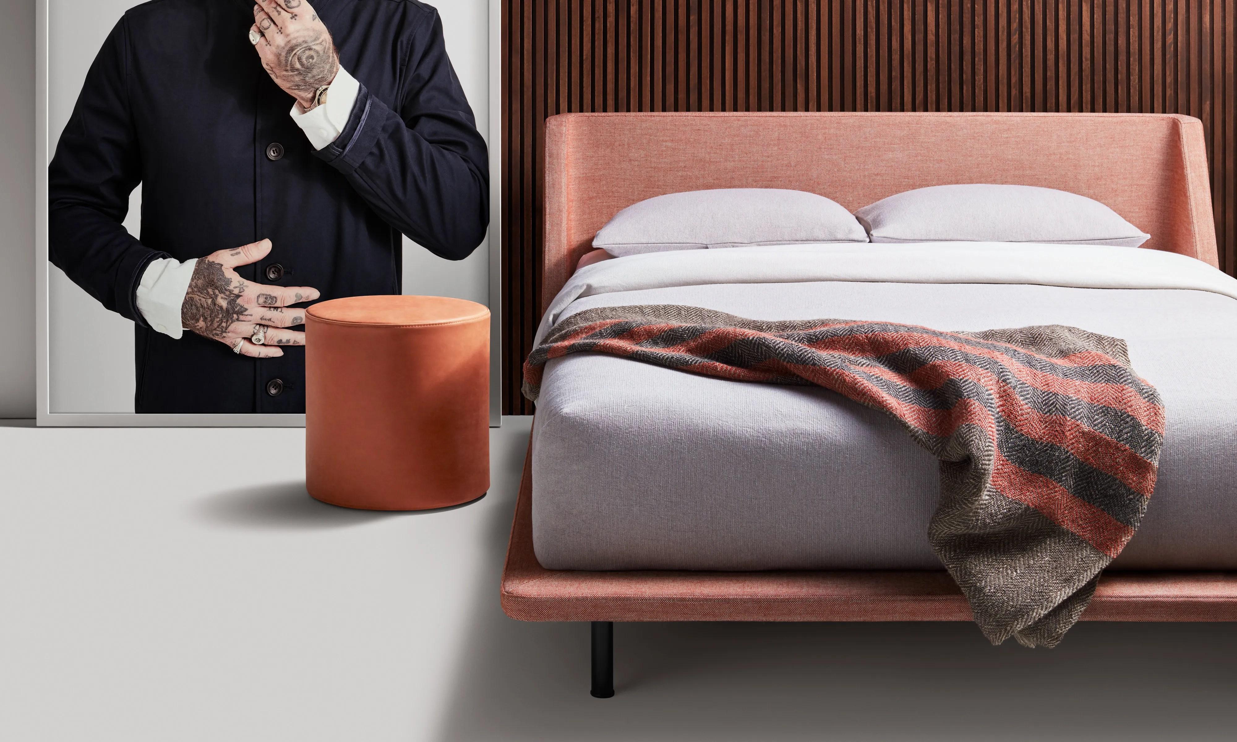 Nook Queen Bed Modern Queen Bed Blu Dot