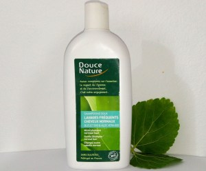 douce nature shampoing