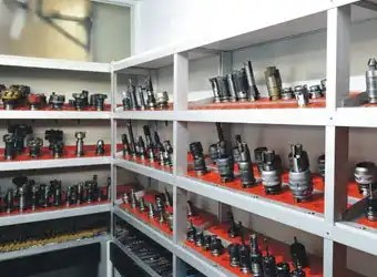 Tools room of cnc machining factory