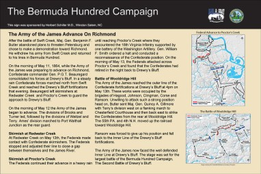 Army of the James Advance on Richmond
