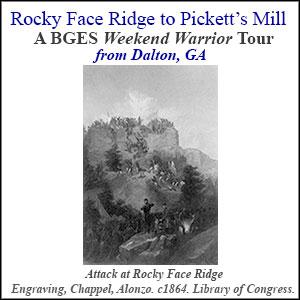 Attack at Rocky Face Ridge