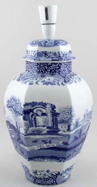 Spode Italian Table Lamp c2000 | Lovers of Blue and White