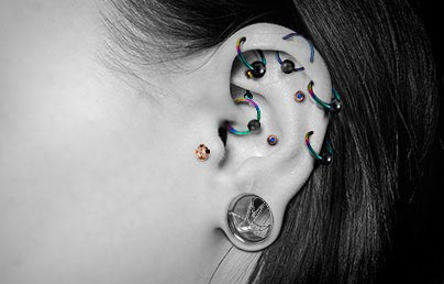 Cartilage Piercing Myth Busting Healing Time Care And Types