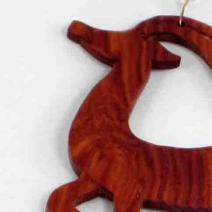 collier bois-de-rose impala par Blue Baobab