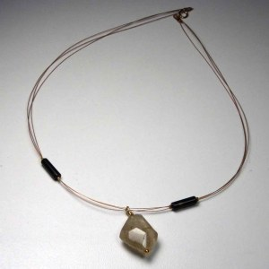 quartz rutile collier numerologie 1 chez bluebaobab