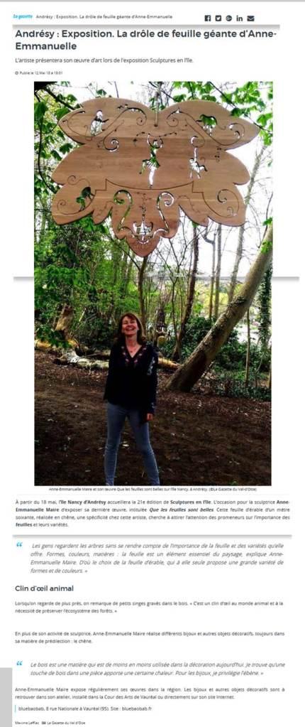 article-gazette-val-oise-sculpture-anne-emmanuelle-maire-2018