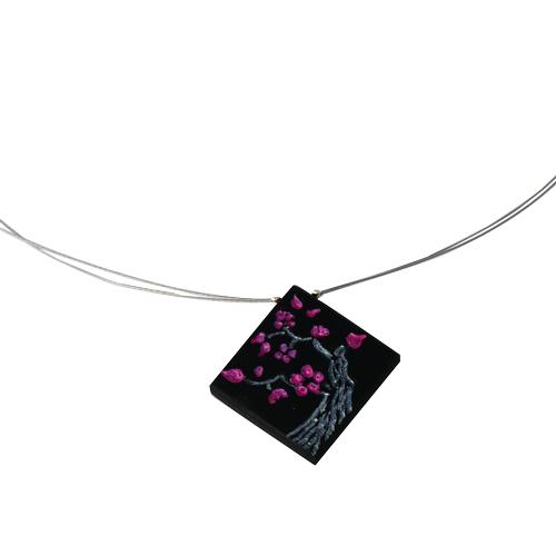 collier-cerisier-en-fleurs-ebene-argent