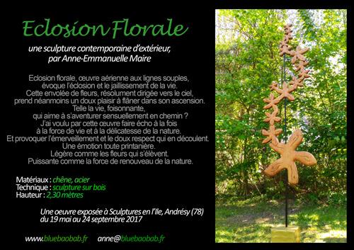 sculpture anne-emmanuelle-maire Eclosion florale