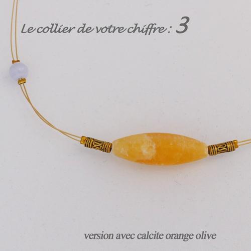 numerologie-collier-3-calcedoine-bleue-calcite-orange-olive