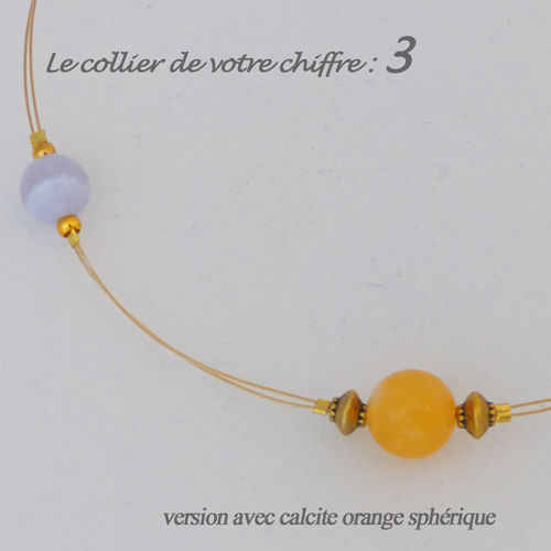 numerologie-collier-3-calcedoine-bleue-calcite-orange-sphere