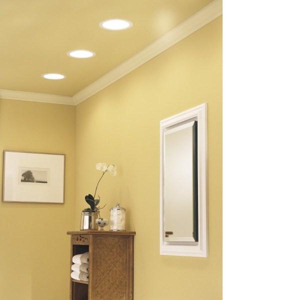 Broan 744led Bathroom Fan Light Led Lighting - Energy Star Qualified