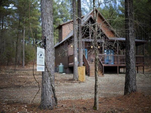 Cabin Map  Broken Bow OK  Blue Beaver Cabins