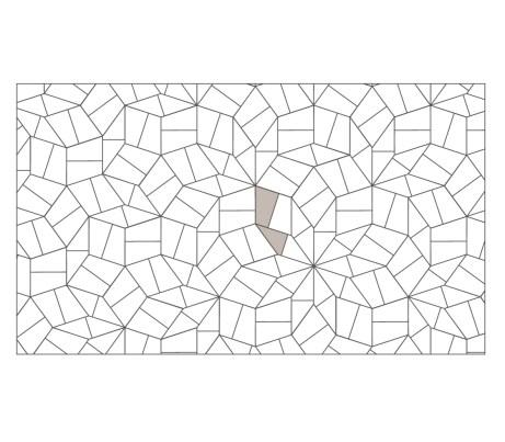 Slide Geometric Laying Pattern - Pentagonal