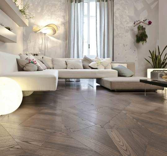 Contemporary geometric Wooden Flooring