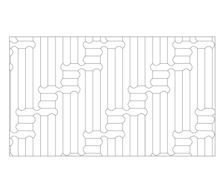 Biscuit Wooden Flooring Laying Pattern