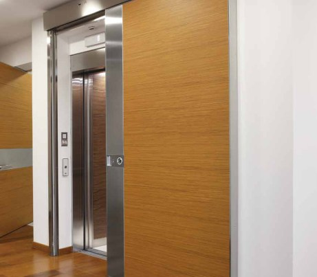 DDA Sliding Security Door for lift