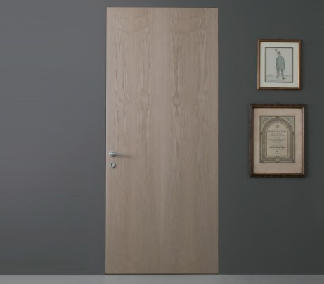 Flush fully integrated wooden Door
