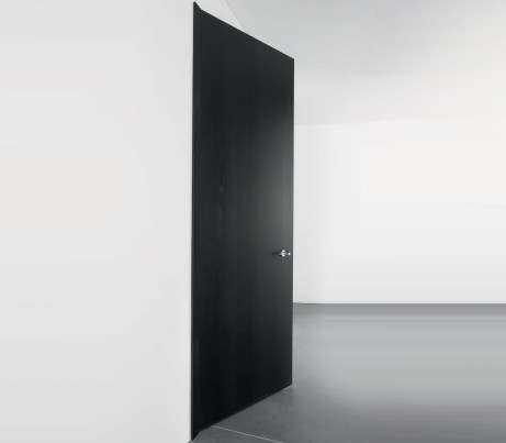 Black Concealed Frame interior Door