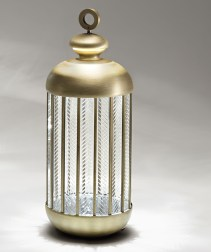 Standing Lantern for Outdoors & Indoors