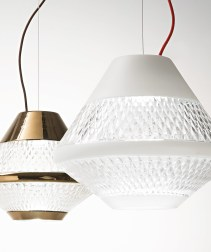 White and bronze chrome Pendant Lighting design