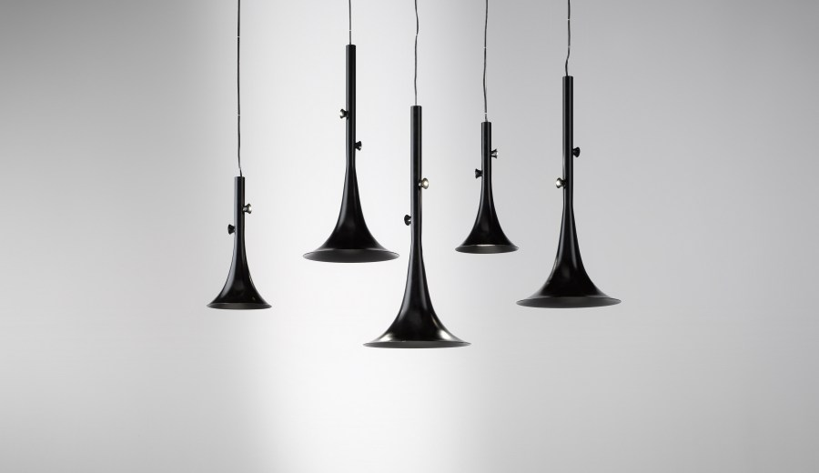 Trumpet design for Outdoor Lighting Collection
