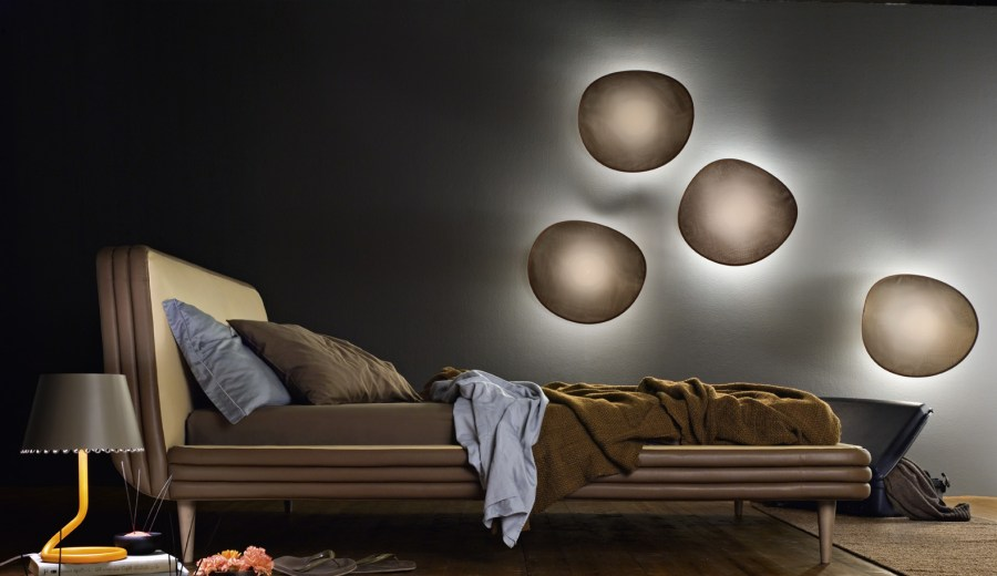 Chips fabric Wall Lights