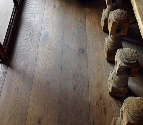 Dark Rustic Oak Flooring