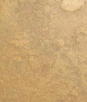 Faux Wall Finish with appearance of Beaten Gold.