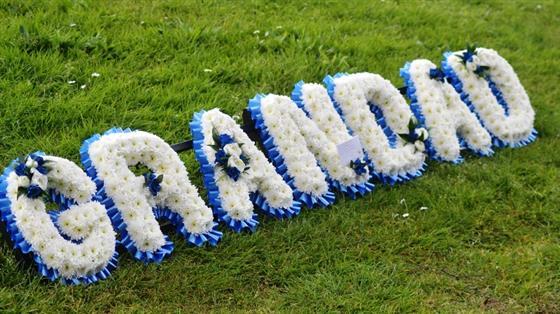 Grandad Tribute Funeral Flowers North Hykeham