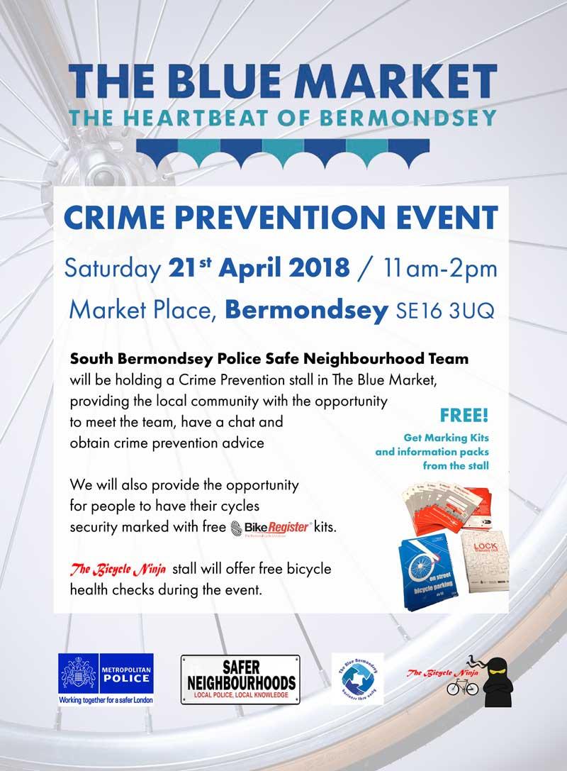 South Bermondsey Police Safe Neighbourhood Team Crime Prevention Event