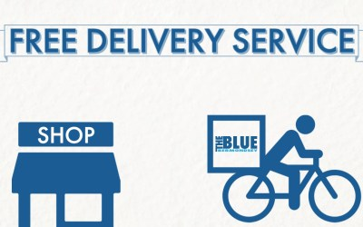 Blue Bermondsey Free Delivery Service promo 02