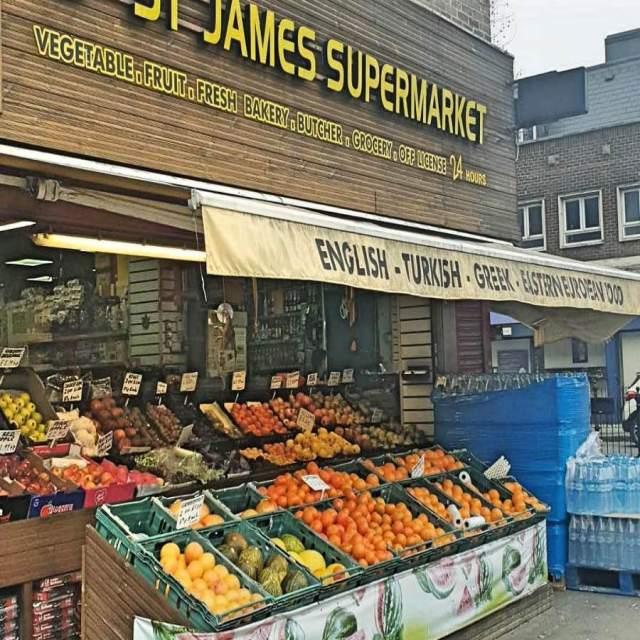 St James's supermarket Instagram Official