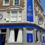 The Blue Anchor Pub facade 01