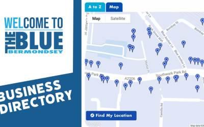 Blue bermondsey business directory