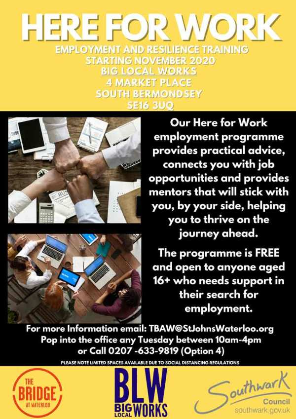 Employability Programme Here for work